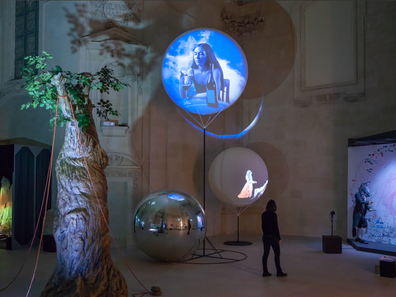 Hypnose : Tony Oursler - State_NonState (Hypnosis) © Musée d'arts de Nantes – C. Clos.tif