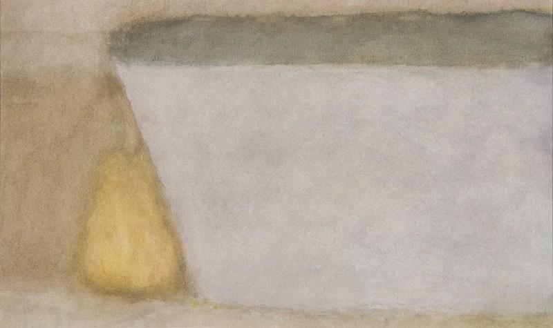 Alexandre Hollan  – L'expérience de voir : Vie silencieuse, 2008, aquarelle, 38 x 57 cm © Illés Sarkantyu
