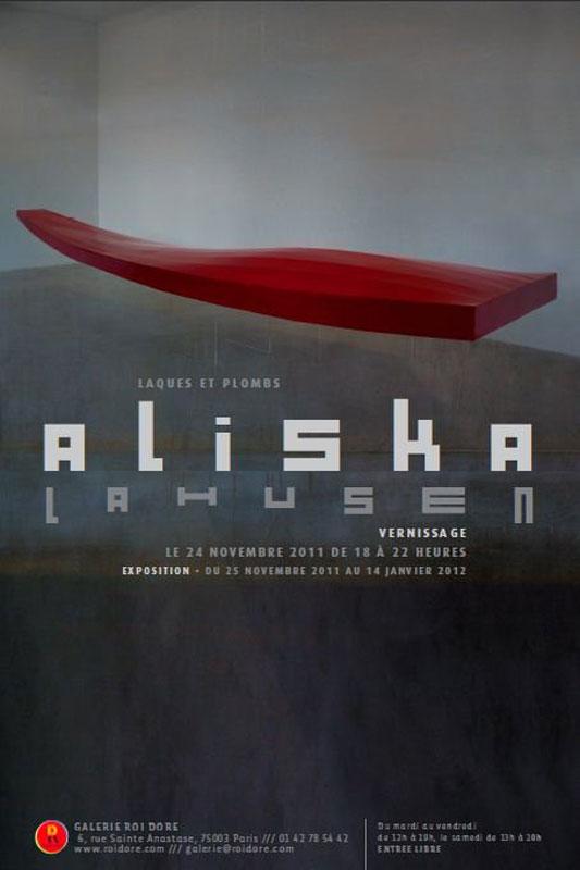 Aliska Lahusen – Laques et Plombs : Invitation Aliska Lahusen