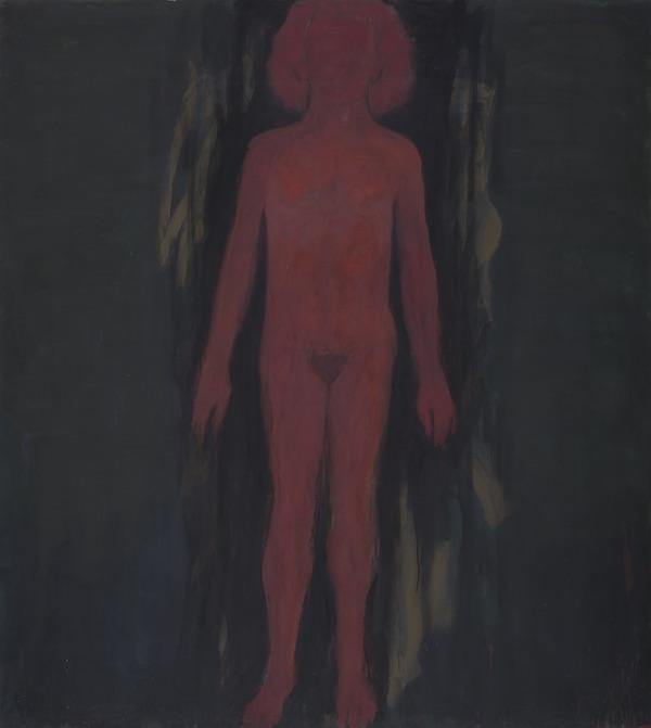 Judit Reigl, Corps–Écritures : Judit Reigl, Corps sans prix, 2000, 200 x 180 cm. © PH Boudraux