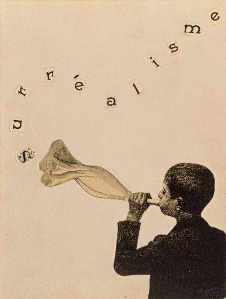 Joseph Cornell et les surréalistes à New York – Dalí, Duchamp, Ernst, Man Ray… : Joseph Cornell Collage pour le catalogue de l'exposition Surréalisme, New York, Julien Levy Gallery 1932 Private collection