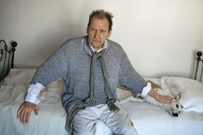 L'énigme du portrait. Œuvres de la Collection Neuflize Vie : Koos Breukel, Lucian Freud, 2008, Jet d'encre pigmentaire sur papier, éd. 3/8, 65 x 100 cm, © Koos Breukel Crédit photo : K. Breukel