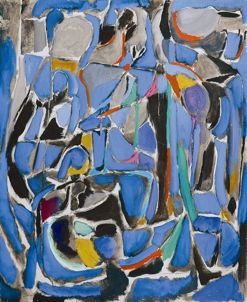 Lanskoy, un peintre russe à Paris : Hommage à Charchoune. Collection particulière. Photo: D.R. © ADAGP Paris, 2011