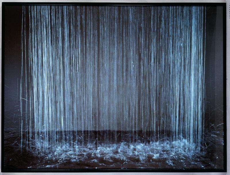Le spectacle de la nature : Patrick Tosani, la troisième pluie, 1986, cliché : Droits Réservés, Œuvre de la collection du Frac des Pays de la Loire