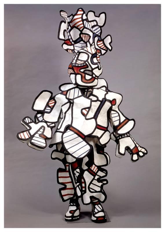 Jean Dubuffet, un barbare en Europe : Le triomphateur, costume pour Coucou Bazar Jean Dubuffet Collection Fondation Dubuffet, Paris © Fondation Dubuffet, 2020, ProLitteris, Zurich / 2020, ADAGP, Paris