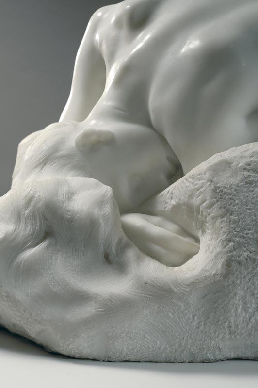 L'invention de l'œuvre, Rodin et les ambassadeurs : Auguste Rodin, La Danaïde, vers 1885, marbre, © Musée Rodin - Photo : Christian Baraja