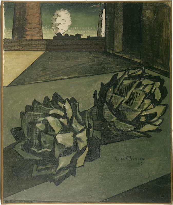 Art Absolument Les Expositions Giorgio De Chirico La Peinture Metaphysique