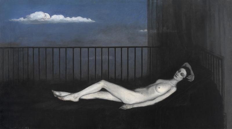 Belles de jour : Romaine Brooks, The Weeping Venus, 1916-1917, © Musées de Poitiers/Hugo Maertens, Bruges