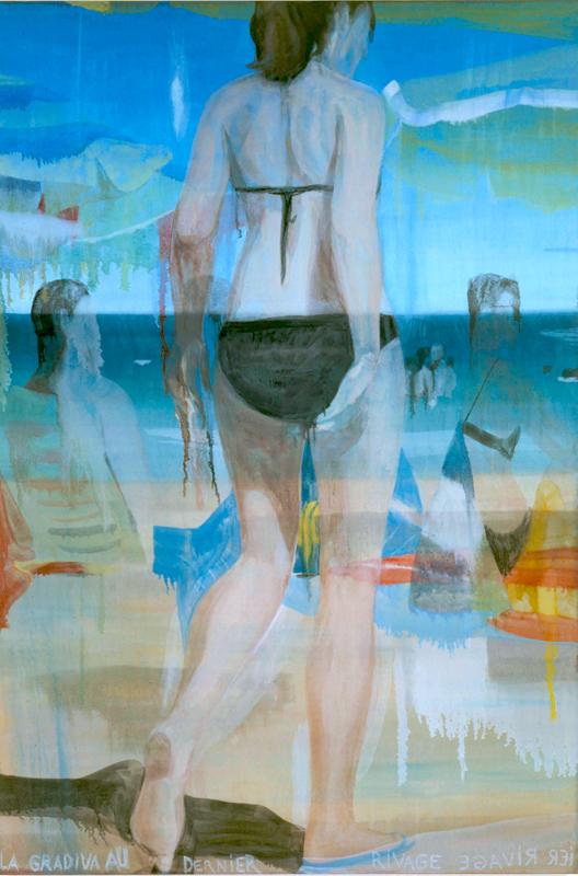 Marc Desgrandchamps : Gradiva 2008 Huile sur toile 195 x 130 cm Collection privée © Jean-Louis Losi © ADAGP, Paris 2011 Courtesy Galerie Zürcher, Paris – New York