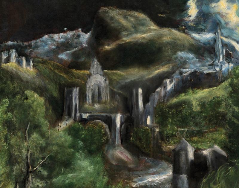 Un chef-d'œuvre, une exposition: El Greco, L'Immaculée Conception de la chapelle Oballe : El Gréco, L'Immaculée conception de la Chapelle Oballe (détail)