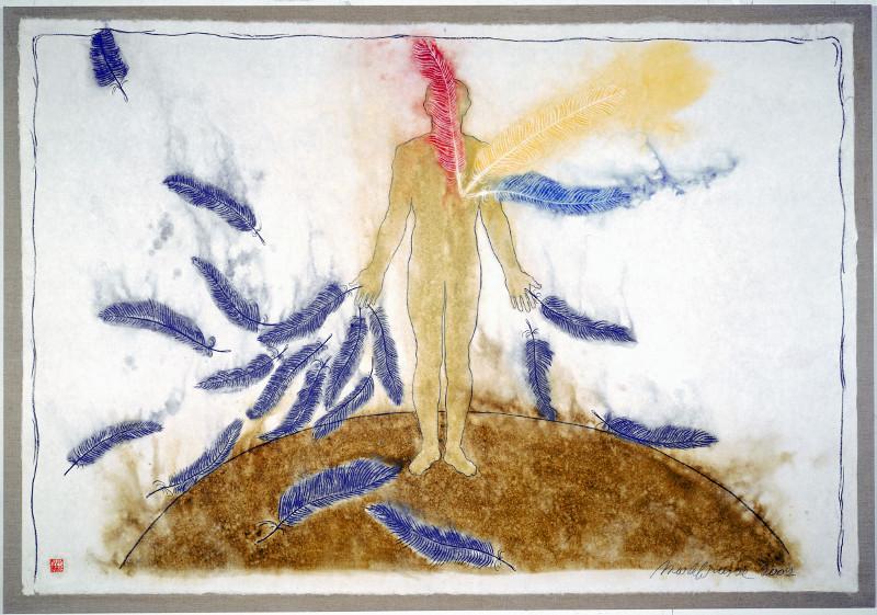 Mark Brusse. Sometimes I Wonder : Mark Brusse. Just like trees II. 2002. Galerie Louis Carré & Cie, Paris