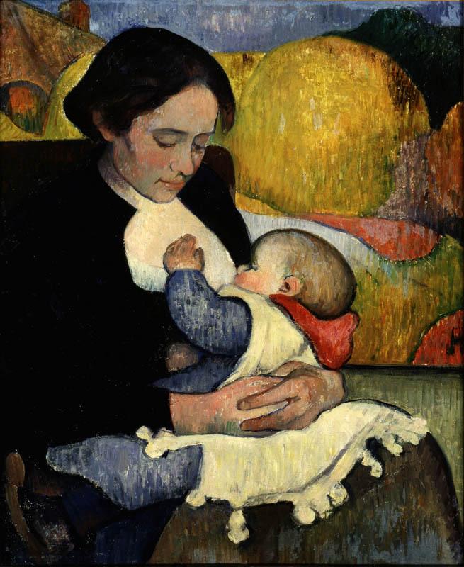 Meijer de Haan, le maître caché : Meijer de Haan, Maternité,  1889, huile sur toile.  Collection privée.