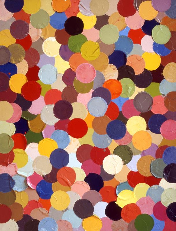 Mondes parallèles : Bernard FRIZE Suite Segond, 1980 Peinture Alkyd-uréthane sur toile 116x89 cm Acquisition en 1986 Collection du Frac des Pays de la loire