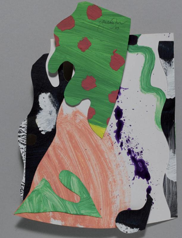 Jean Gaudaire-Thor - Parc Montjuïc : Jean Gaudaire-Thor, Montserrat, 2009, Technique mixte sur papier, 36 x 26 cm