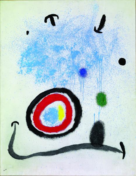 Joan Miró, l'Arlequin artificier : La Naissance du jour I, 1964, Collection Fondation Marguerite et Aimé Maeght, Saint-Paul de Vence. Photo Claude Germain