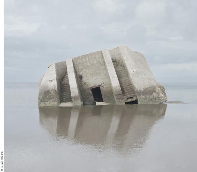 Cerise Doucède & Noémie Goudal – Prix HSBC 2013 pour la photographie : Combat, Noémi Goudal, 2012, 166 x 188 cm © Noémie Goudal