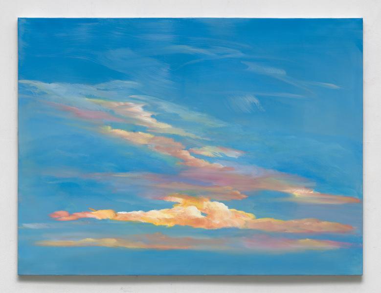 ON AIR, Anne Vignal : Anne Vignal, Ciel, 2020, huile sur toile, 130 x 97 cm