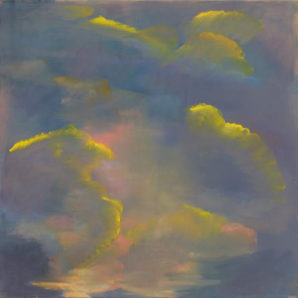 ON AIR, Anne Vignal : Anne Vignal, Ciel, 2020, huile sur toile, 150 x 150 cm