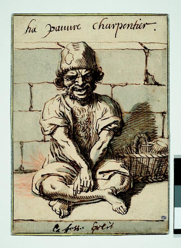 De Poussin à Fragonard : hommage à Mathias Polakovits : Charles de La Fosse, «Ha pauvre charpentier»