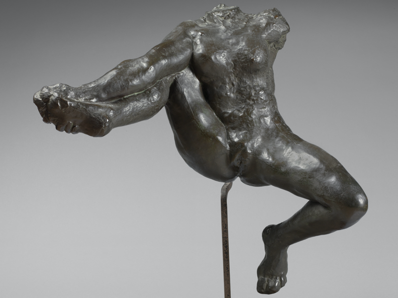 Picasso-Rodin : Auguste Rodin, Etude pour Iris © musée Rodin - photo Hervé Lewandowski