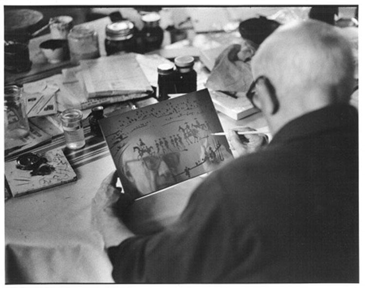 « Picasso à l'oeuvre. Dans l'objectif de David Douglas Duncan » : David Douglas Duncan, Photographie