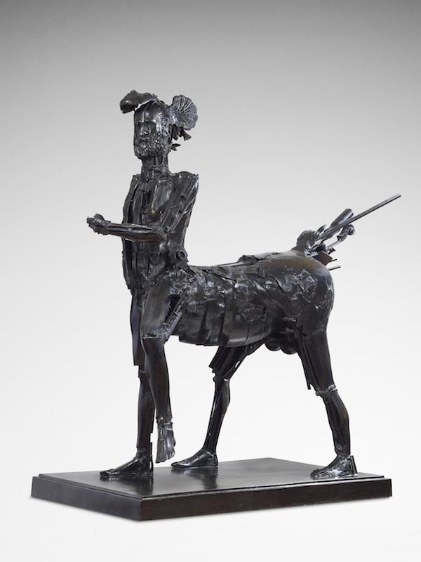 Picasso forever : Baldaccini CESAR, Centaure - hommage à Picasso, 1983, bronze, h: 146 cm