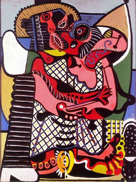Picasso Picabia - La peinture au défis : Pablo Picasso Le Baiser, été 1925 Huile sur toile, 130,5 x 97,7 cm Musée national Picasso-Paris © Succession Picasso, 2018