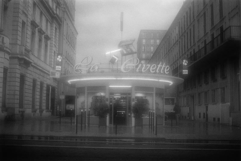 Bernard Plossu. Le Havre en noir et blanc : Bernard Plossu, Le Havre, octobre 2013 © Bernard Plossu