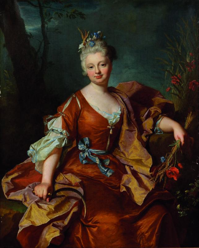 Hyacinthe Rigaud ou le portrait Soleil : Portrait de Madame le Bret Hyacinthe Rigaud (1659-1743) 1712 Huile sur toile Collection particulière © Tous droits réservés
