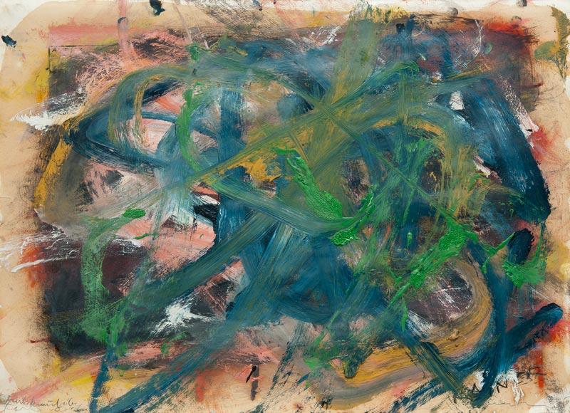 Arnulf Rainer. Œuvres sur papier. 1966 - 2010 : Arnulf Rainer Untitled (