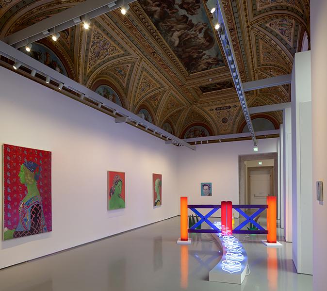 Martial Raysse : Martial Raysse. Vue d'installation au Palazzo Grassi. 2015. Photo © Fulvio Orsenigo. © Martial Raysse by SIAE 2015
