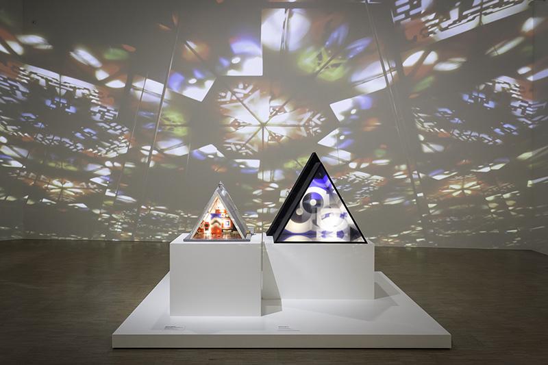 Nicolas Schöffer – Rétroprospective : Vue de l'exposition présentée au LaM – Lille Métropole Musée d'art moderne, d'art contemporain et d'art brut (Villeneuve d'Ascq). Photo: N. Dewitte / LaM.