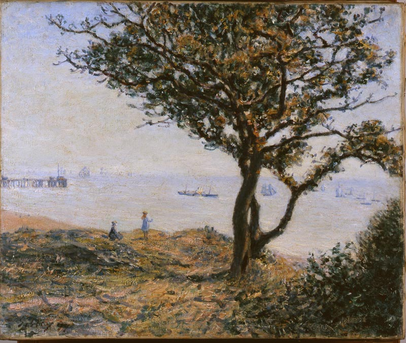 the magazine art absolument les expositions alfred sisley le vrai impressionniste. Black Bedroom Furniture Sets. Home Design Ideas