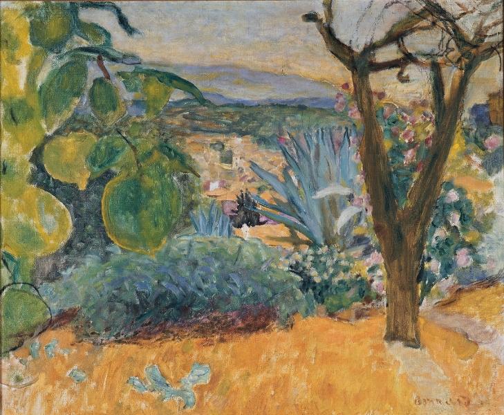 Le Grand Atelier du Midi – De Van Gogh à Bonnard : Pierre Bonnard, Le Cannet Vers 1930 Huile sur toile, 54 x 64,8 cm Toulouse, Fondation Bemberg © Fondation Bemberg, Toulouse © Adagp, Paris 2013