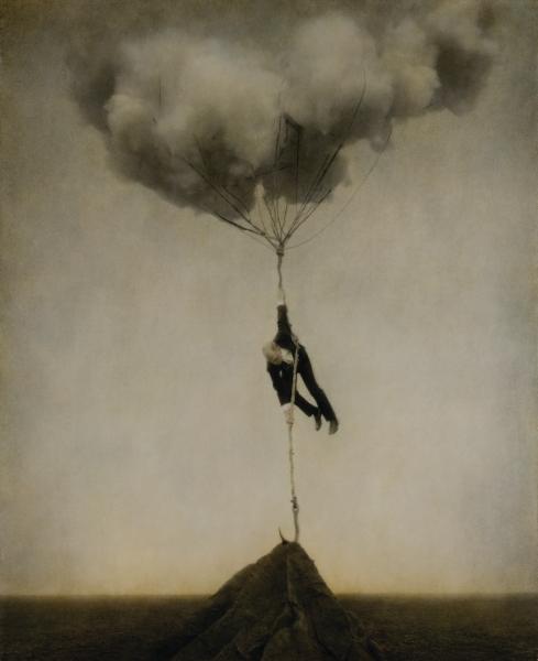 Nuage : Robert & Shana ParkeHarrison,Tethered Sky, 2005. De la série Architect's Brother. Courtesy des artistes et Jack Shainmann Gallery, New-York © ParkeHarrison Photogravure ; ed. 1 AP/40 – 66 x 78 cm