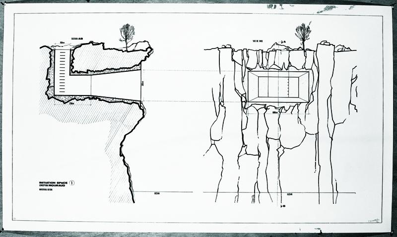"Tania Mouraud - Une pièce de plus : Initiation Space n°1"", 1970, Courtesy Galerie Dominique Fiat - ADAGP"