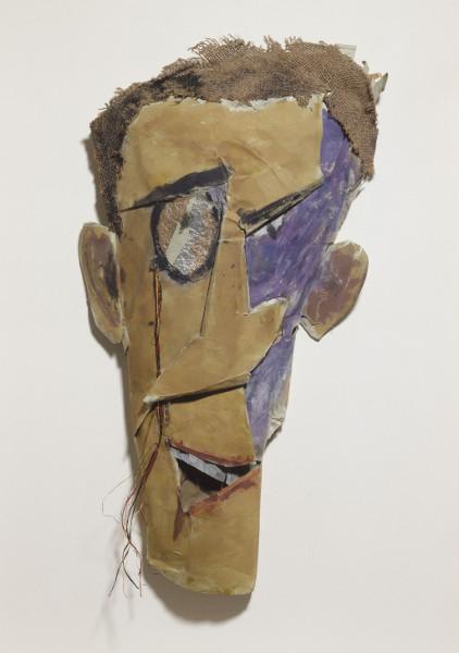Tristan Tzara. L'Homme approximatif : 11 - Marcel Janco, Portrait de Tzara, 1919, Paris, Centre Pompidou - MNAM-CCI