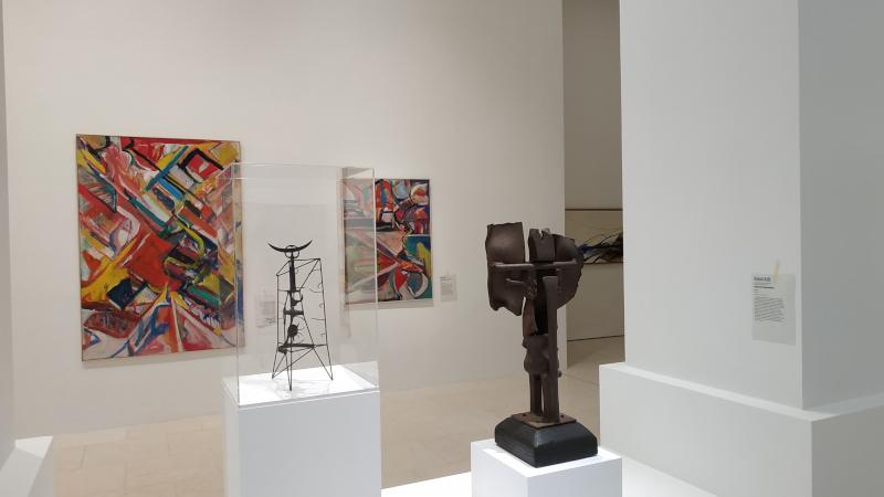 United States of Abstraction. Artistes américains en France, 1946-1964 : Vue de l'exposition