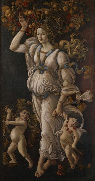 Fra Angelico, Botticelli… – Chefs-d'œuvre retrouvés : Sandro Botticelli et son atelier Allégorie de l'Automne Chantilly, musée Condé