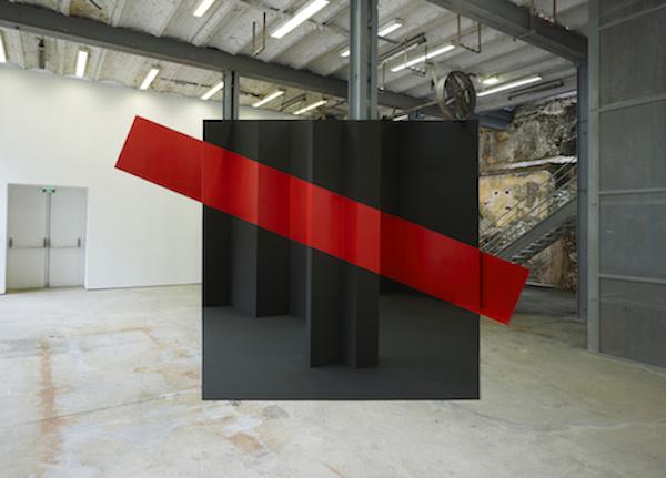 Georges Rousse-Le feu, le rouge et le noir : Thiers 2014 ©Le Creux De L'Enfer