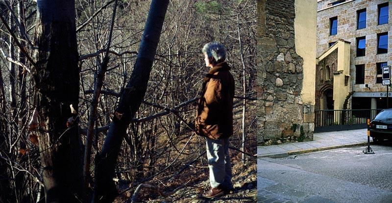 Valerie Jouve : Valérie Jouve, Sans Titre (Les Figures avec Anne), 2008, C-Print, 170 x 220 cm et Sans Titre (les Façades), 2001/2002, Cibachrome, 60 x 40 cm, Courtesy Galerie Xippas