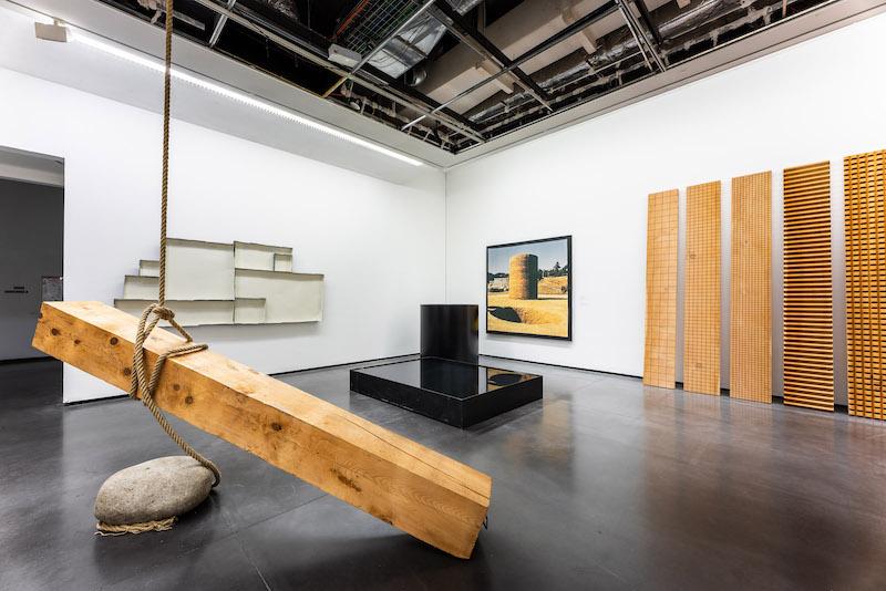 Viva Gino ! Une vie dans l'art : Vue de l'exposition Viva Gino ! Une vie dans l'art, Les Abattoirs, Toulouse, 2020.