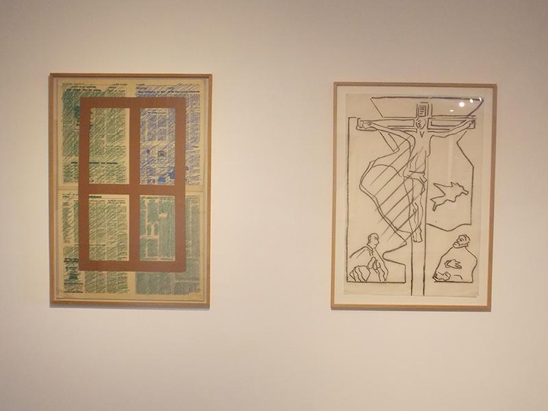 Passages : vers une abstraction habitée : Vue de l'exposition au MASC.