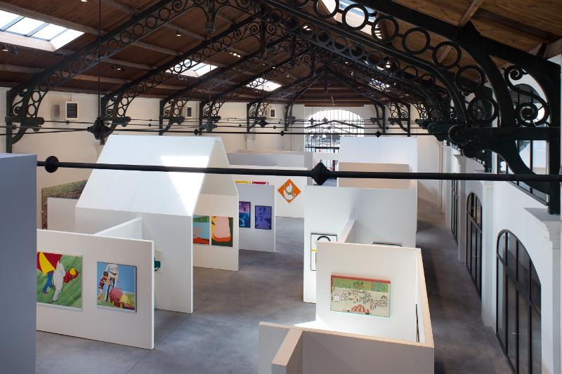 La Résistance des Images : Architecture d'intérieur : vue d'exposition. © Pierre Yovanovitch.
