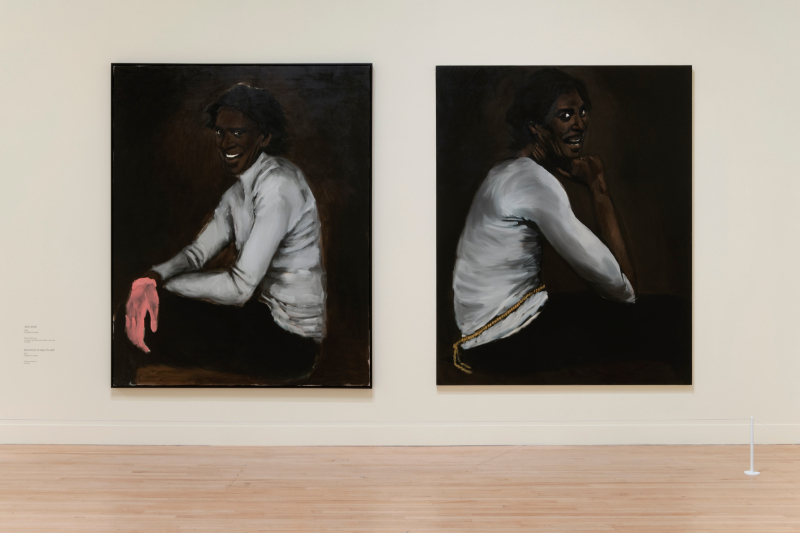 Lynette Yiadom-Boakye. Fly In League With The Night : Lynette Yiadom-Boakye. Wrist Action. 2010. © Courtesy the artist and Jack Shainman Gallery, NY