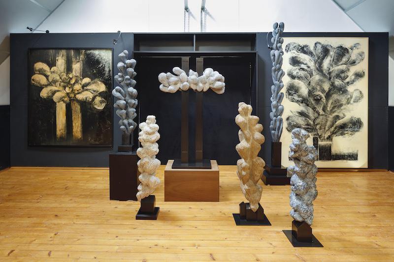 Saison d'Art 2020 : Vue des œuvres d'Axel Cassel domaine de Chaumont-sur-Loire 2020