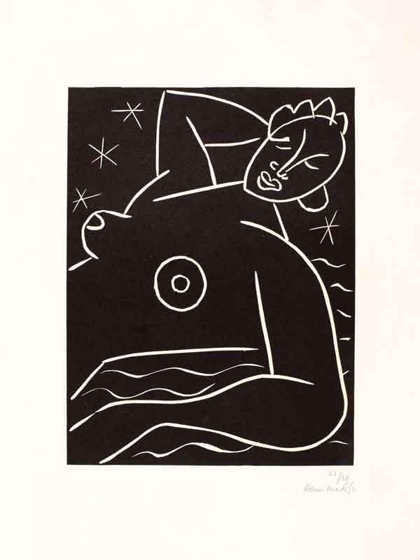 Une autre langue, Matisse et la gravure : © Succession H. Matisse, photo © Michael Matisse