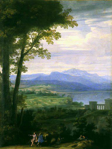 Le beau Langage de la nature: le paysage au temps de Mazarin : Philippe de Champaigne