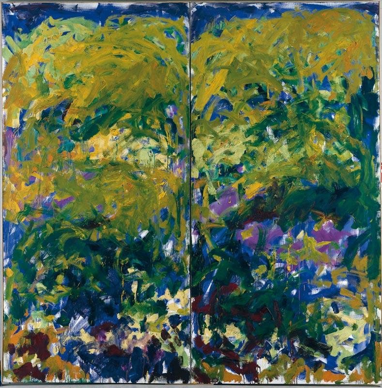 Joan Mitchell, peintures :