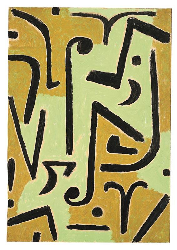 Paul Klee (1879-1940) – La collection d'Ernst Beyeler :